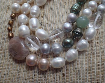 "57"" LONG PEARL NECKLACE"