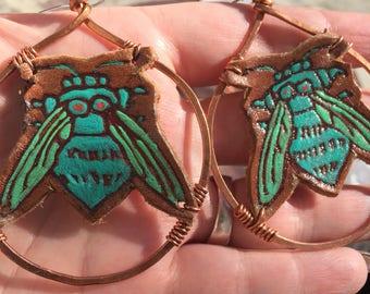 Voodoo Bee Earrings