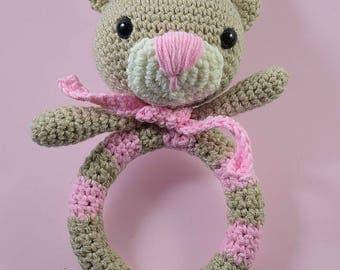 Amigurumi Bear Rattle Crochet