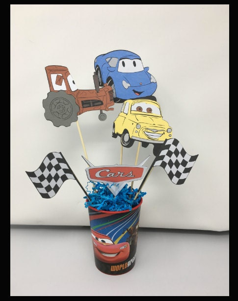 Cars themed decorations
