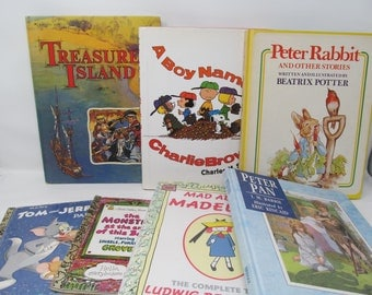 Vintage Children's Book Lot - 7 Books Included!