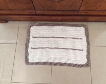 Small cotton rug