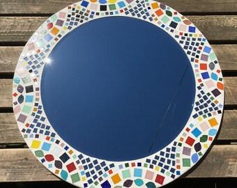 Kaleidoscope Pattern Mosaic Mirror