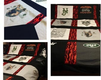 Custom Memory Blankets and Quilts