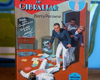 A striking 1960's  Raffles Crime in Gibraltor  Childrens book