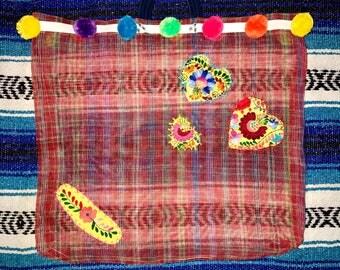 Tres Corazones Grocery Bag