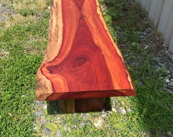 live edge coffee table solid blood wood