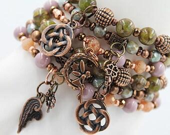 St. Patrick's Day Charm Bracelet Set