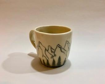 Mountain Scape Mug
