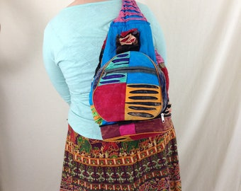 Ultimate Hippie Patchwork Backpack - Back to School Sale