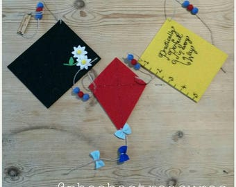 Mary Poppins inspired bunting