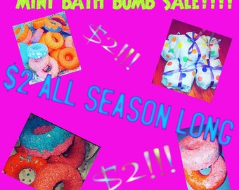 Mini bath bomb SALE