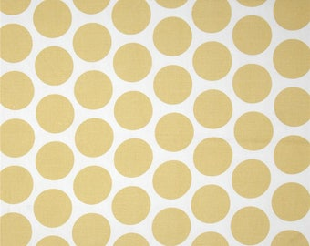 Fancy Dot Saffron Yellow Premier Prints Home Decorating Fabric By The Yard