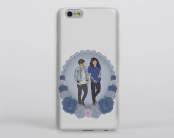 I Love You It's All I Do Phone Case iPhone Samsung One Direction Harry Styles Louis Tomlinson Larry Stylinson Portrait Drawing Illustration