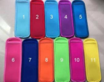 Lot of 100 Assorted Popsicle Koozies