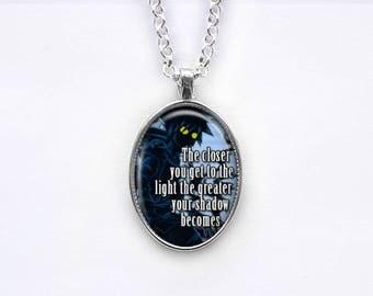 Necklace Kingdom Hearts Sora Quote