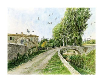 PRINT to order - Mill Road Carluc