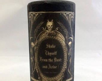 Macabre Original Unscented Candle.