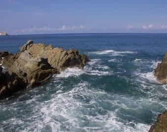 Mexico, Mazatlan, Ocean, Sea, Waves