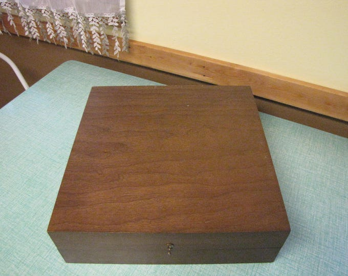 Old Wood Box, Plate or Storage Boxes Green Velvet Interior Wooden Storage Box and Organization