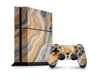 Agate marble skin decal vinyl 3M quality Sony Playstation 4 skin controller