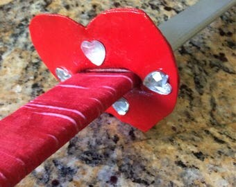 Decorative Heart Cosplay Sword