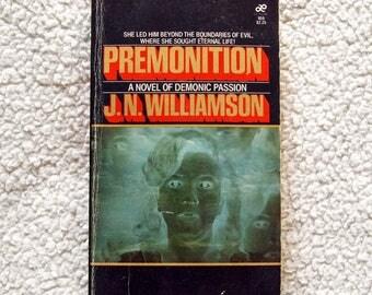 Premonition by J N Williamson Vintage 80s Paperback Book
