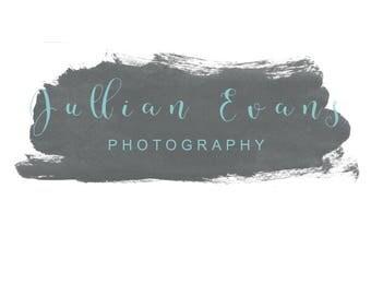 Photography logo - Design Photography- Premade Logo -Watermark Logo - Modern logo - Simple Logo - Photography watermark -INSTANT DOWNLOAD