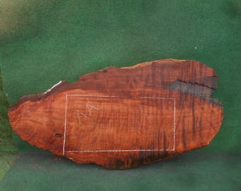 redwood slab with live edge - bs139