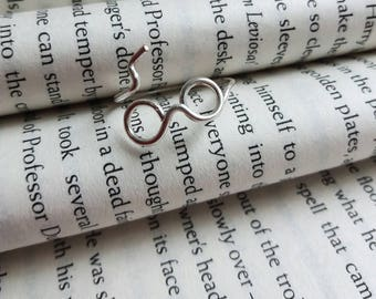 Harry Potter inspired Wire Wrap Ring