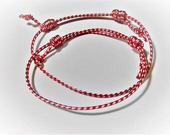 Marti Bracelet, Spring Bracelet, Greek March Bracelet, Martakia, March Bracelet, Greek Marti, Friendship Bracelet, Minimal Bracelet, Martis
