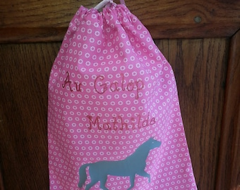 personalized pouch riding theme