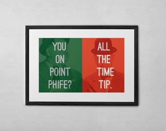 A Tribe Called Quest Check The Rhyme 11x17 Art Print
