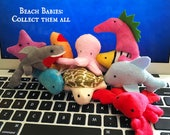 Beach Babies - Catnip Plush Cat Toys