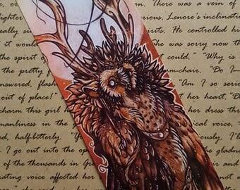 Guardian Moonspirit ~ Laminated Bookmark Print