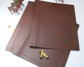Folder Covers / Bookbinding Supply / Paperboard Binder Covers / 4 and a spare!