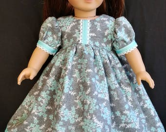 "Soft Flannel Nightgown for your 18"" doll, ready to ship!"