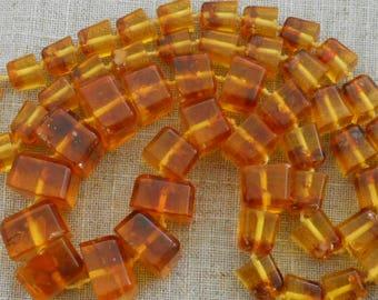 Genuine amber necklace
