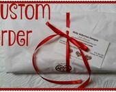 CUSTOM ORDER for Valeria 2 Pencil Rollups