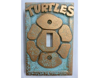 TMNT -  Light Switch Cover