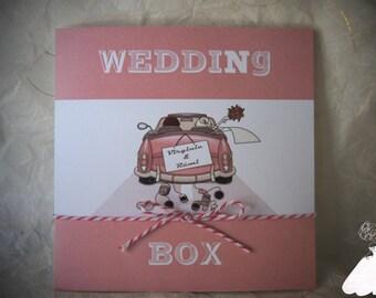 Original BOX wedding invitation