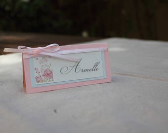 Place card variety | pastel wedding.