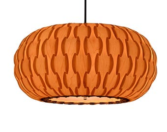 Drum pendant light, made of maple wood veneer,design lamp,dining room light, ceiling light,Lighting,pendant light,fixtures