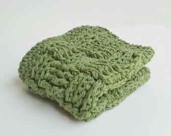 Crochet Dishcloth, Crochet Dish Cloth, Rustic Dishcloth, Rustic Crochet Dish Cloth, Rustic Kitchen, Crocheted Dishcloth