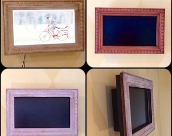 "Chuck's (2) 46"" Samsung TV Frames"