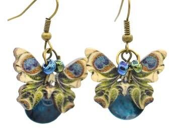 Earrings smart countryside, boho, Bohemian