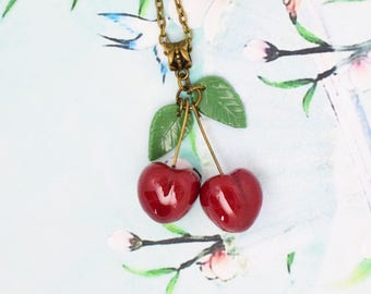 Necklace cherry treats