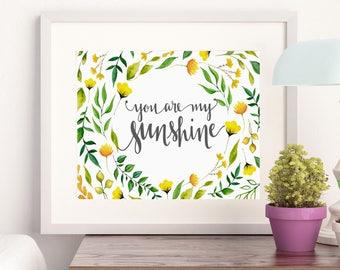 Sunshine A4 print