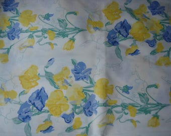 Fabric cotton Laura Ashley floral