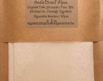 CedarShield Wipes